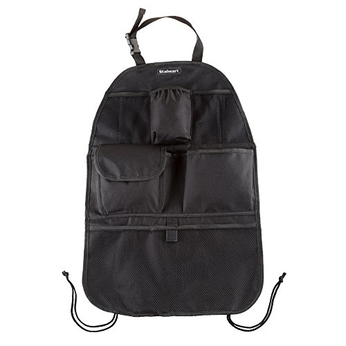 Stalwart 75-CAR1025 Car Backseat Storage Organizer Multi Pocket 6 Accessories Travel Bag, Multicoloured, One Size