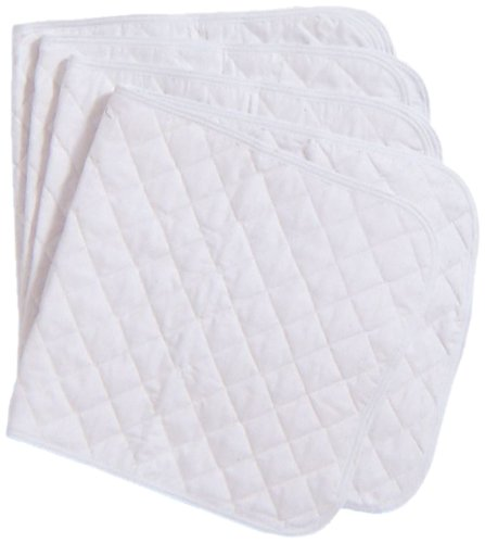 Tough 1 Quilted Leg Wraps, White, 12x30-Inch