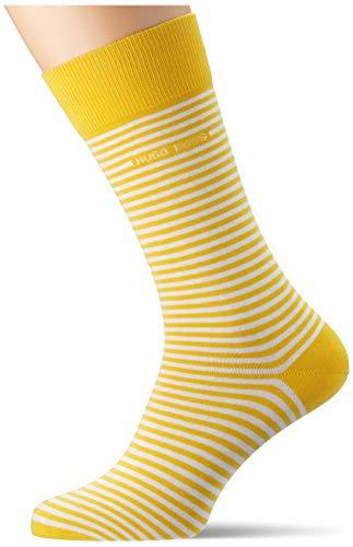 BOSS Marc RS Stripe CC Calcetines, Amarillo Brillante 731, 39-42 para Hombre