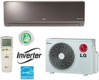 LG LA090HSV2 Ductless Air Conditioner, 19 SEER Single-Zone Wall Mount Mini Split System w/ Heat Pump - 9,000 BTU