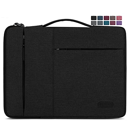 Laptop Sleeve Case 13.3-14 Inch Waterproof Durable Business Computer Carrying Bag Compatible with MacBook Air/Pro HP/Dell/Asus/ThinkPad Notebook...
