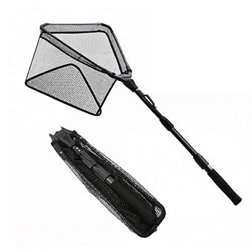 Faltbare Netzs Dreieck Net, Beweglicher Nylon Kescher Für Angeln, Angeln Werkzeuge Zubehör, Schwarz