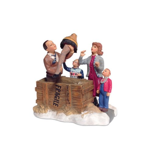 Department 56 Christmas Story Village Isn't It Beautiful Accessory Figurine