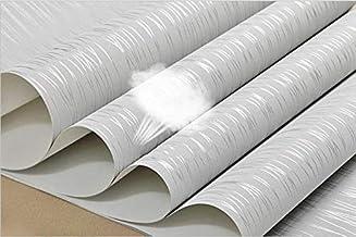 ملصقات MUMUWU ذاتية اللصق الحديثة غير المنسوجة خلفيات كلاسيكية ورق الجدران لفة رمادي الجدار ملصقات الحائط الرئيسية (اللون:...