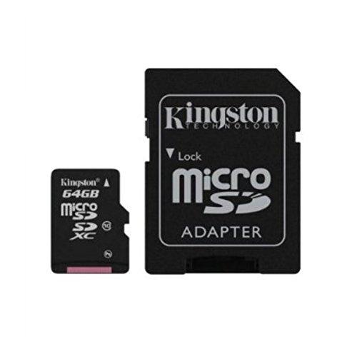 Acce2S Scheda di Memoria da 64 GB, Classe 10, Compatibile con Huawei, P8, Micro SD HC e Adattatore SD Integrato