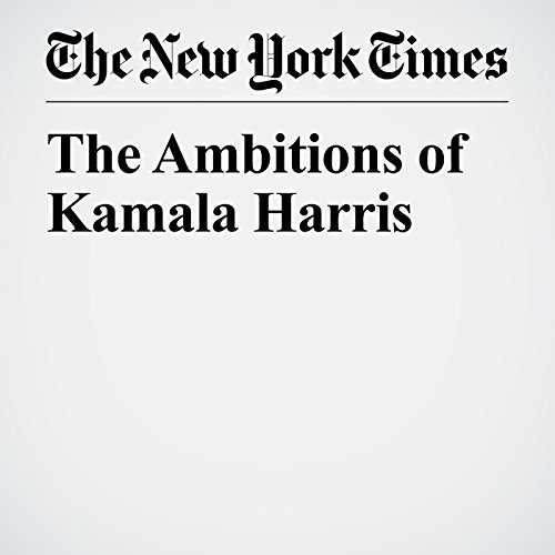 The Ambitions of Kamala Harris copertina