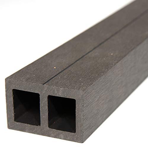 HORI® Unterkonstruktion für Terrassendielen aus WPC, Alu, Hartholz & Douglasie I 390 cm Unterkonstruktionslänge