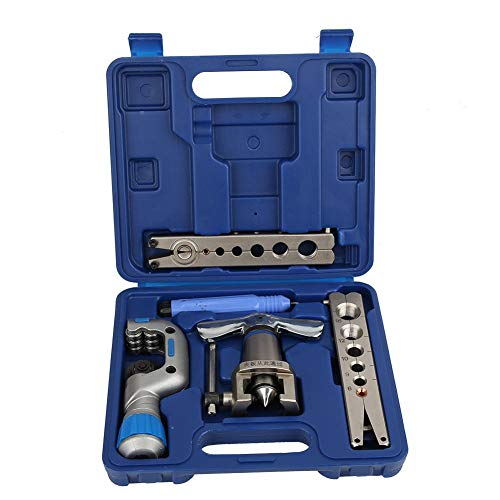 Juego de expansor de tubo de 5 piezas Tubo de expansión de ahorro de mano de obra Herramientas de abocinado Accesorios de reparación CT-809 Aleación de acero para electrodomésticos