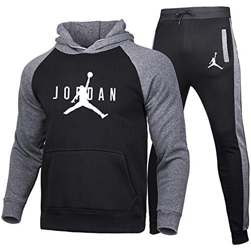 Chándal con Capucha para Hoodie Hombres Fitness Jordan Jersey Sudadera Neutral Sudadera...