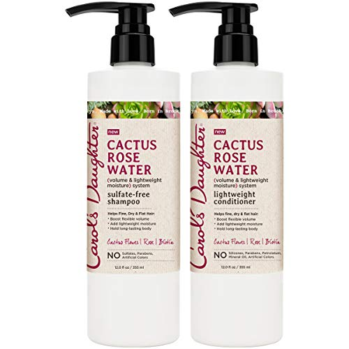 Carol's Daughter Cactus Rose Water Sulfate Free Shampoo and Conditioner Set