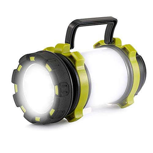 Camping Lantern Rechargeable Flashlight Lantern Super Bright Portable Tent Light for Home Outdoor Emergency Light