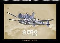 Aero Action Art - Luftfahrt Kunst (Wandkalender 2022 DIN A2 quer): Luftfahrt Kunst. Illustrationen von Militaerflugzeugen in dynamischer Haltung. (Monatskalender, 14 Seiten )