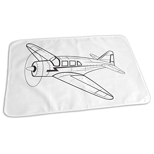 Vliegtuig Baby Herbruikbare Changing Pad Cover Draagbare Travel Changing Mat 27.5x19.7 inch