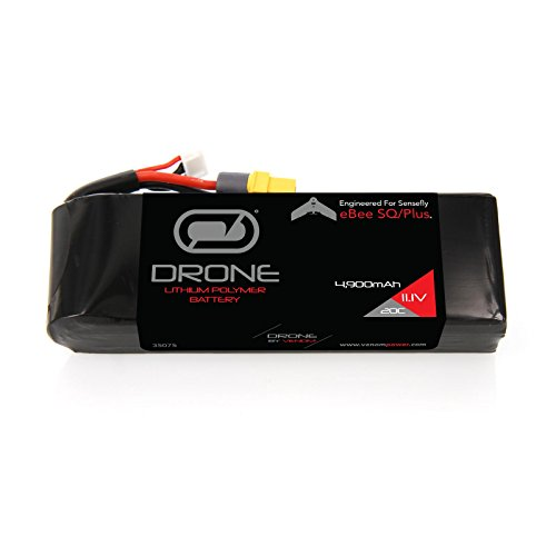 Venom 3S 4900mAh 11.1V LiPo Drone Battery for SenseFly eBee Plus and eBee SQ