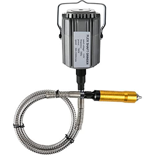 VEVOR Flex Shaft Grinder 780W Rotary Tool 500-23000RPM Rotary Carver with 1/4