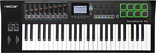 Panorama T4 USB MIDI Keyboard with Nektar DAW Integration and Nektarine PlugIn Control