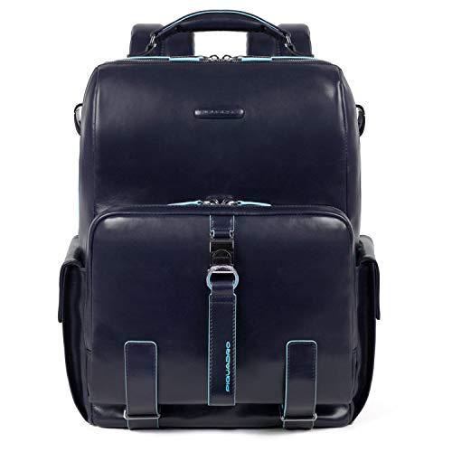 Piquadro Blue Square Mochila para portátil 14? Azul Oscuro
