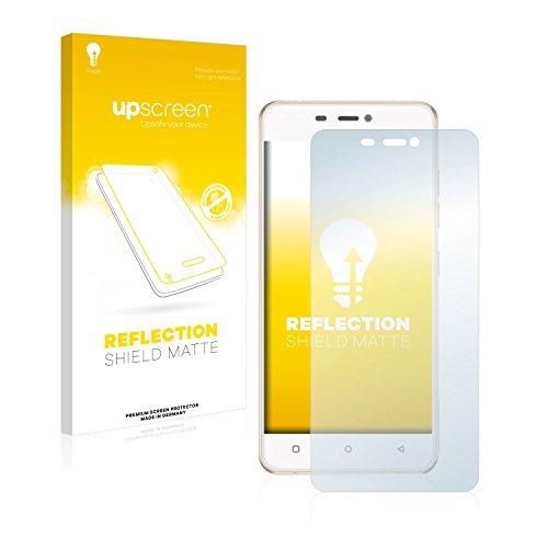 upscreen Entspiegelungs-Schutzfolie kompatibel mit Gionee Elife S5.1 Pro – Anti-Reflex Bildschirmschutz-Folie Matt