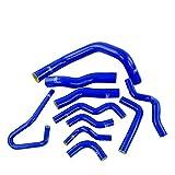Manguera Turbo Kit De Manguera De Radiador De Silicona Azul De 10 Piezas para N&i-ssan para Silvia 200SX 240SX S13 S14 S15 Mangueras del radiador
