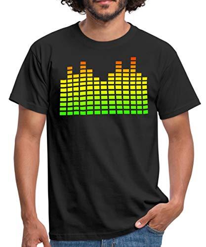 Equalizer Männer T-Shirt, S, Schwarz