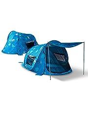 Outdoor Pop Up namiot plażowy Zack Premium Sealife: Ochrona UV 80, ochrona przed owadami i wzrokiem