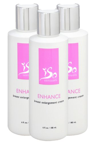 IsoSensuals Enhance Breast Enlargement Cream - 3 Bottles