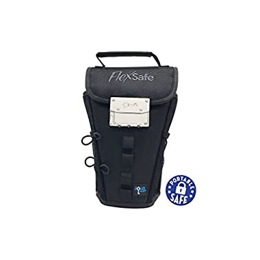 The All New FlexSafe by AquaVault (Anti-Theft Portable Safe & Packable Travel Vault)