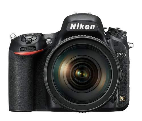 Nikon D750 24.3 MP Digital SLR Camera with 24-120 4G VR Kit + Free Lowepro Photo Hatchback 22L AW