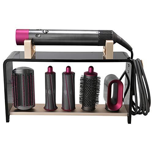 Kyrio Schreibtischhalter kompatibel für Dyson Airwrap Styler, Organizer Aufbewahrung Ständer für Dyson Lockenwickler Zubehör