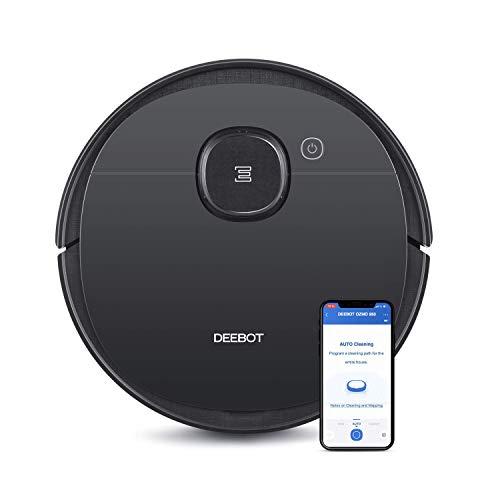 ECOVACS DEEBOT OZMO 950 - Saug- & Wischroboter – 2-in-1 Staubsauger-Roboter mit Wischfunktion & intelligenter Navigation – Google Home, Alexa- & App-Steuerung