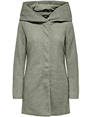 Only Onlsedona Light Coat Otw Noos Giubbotto Donna