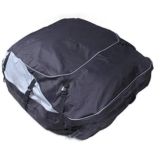 Estante del coche Soft Shell Techo Azotea bolsa de transporte de carga a prueba de agua al portaequipajes for los coches furgonetas y vehículos utilitarios deportivos Tejado de almacenamiento suave Un