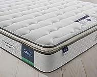Silentnight Miracoil Luxury Pillowtop Mattress | Medium | King