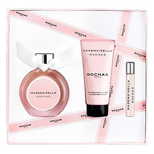 Set de Perfume Mujer Mademoiselle Rochas Rochas EDP (3 pcs) Perfume Original | Perfume de Mujer | Colonias y Fragancias de Mujer