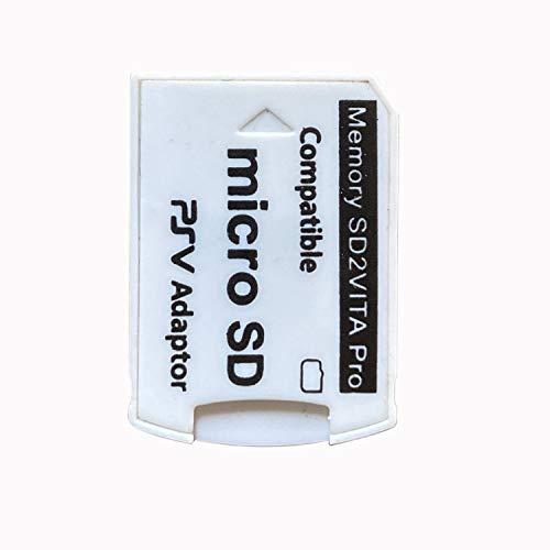 ADDFOO Versión 6.0 Sd2Vita para PS Vita Tarjeta De Memoria TF para Psvita Tarjeta De Juego PSV 1000/2000 Adaptador 3.65 Sistema Tarjeta - R15