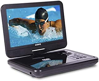 "Laser DVD Player Portable 10"" Wide Screen"