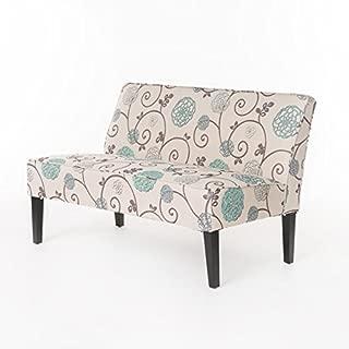 Dejon Floral Fabric Loveseat