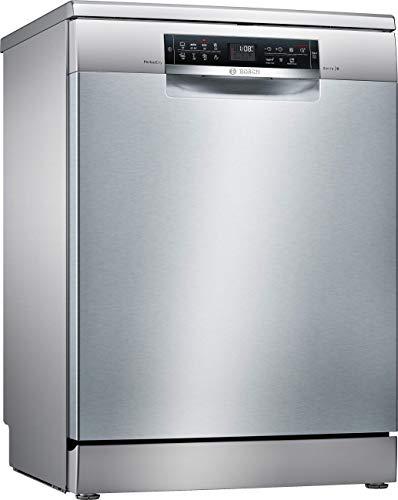 Bosch Serie 6 SMS68MI04E Lavastoviglie A+++ (Libera installazione, Full size (60 cm), Touch, LED), Acciaio inossidabile