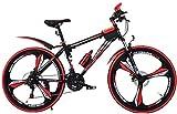 Kinderfahrräder Mountainbike Outdoor-Sommer Mountainbike Kinder Rennrad Jungen und Mädchen 20 Zoll Geschwindigkeit einstellbar Bike (Farbe: Rot, Größe: 20inch) lalay ( Color : Red , Size : 20inch )