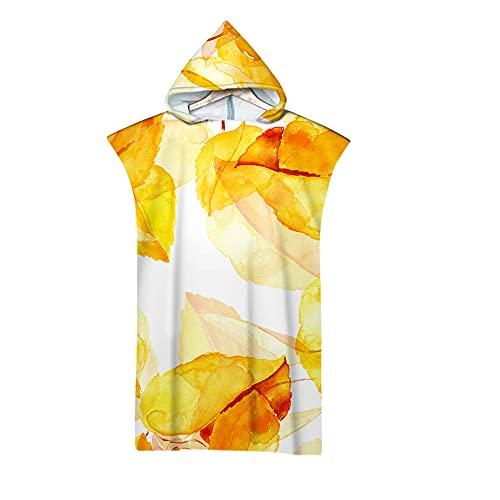 LYINGTAO - Vestido de microfibra para adulto, unisex, con capucha, poncho, toalla de baño, vestidos, surfing, verano, natación, playa, surf-C