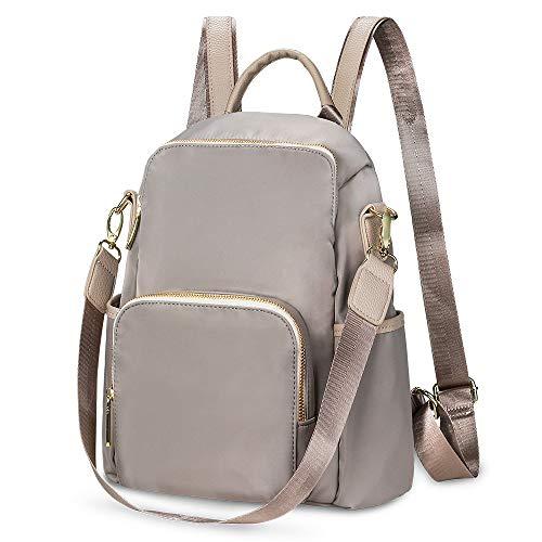 TIBES Women Backpack Waterproof Nylon Shoulder Bag Anti-theft Casual Daypack Ladies Rucksack