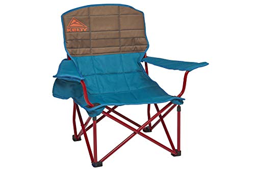Kelty Lowdown Camping Chair, Deep Lake/Fallen Rock – Portable, Folding Chair for Festivals, Camping and Beach Days - Updated 2019 Model