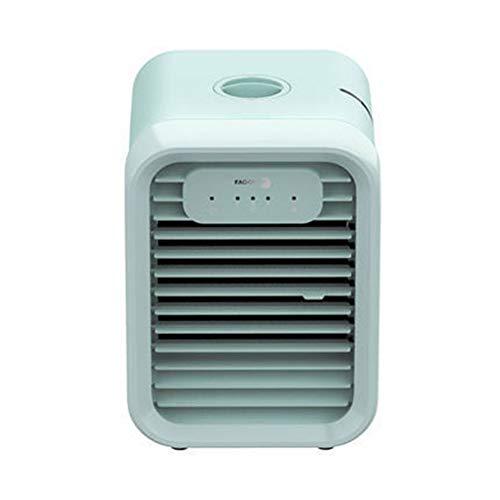 TOPYL Mini Portable Aire Acondicionado,Personal Climatizador,Enfriador De Aire con Humidificador Purificador para Habitación Y Oficina Verde 14.4 * 19.7 * 18cm