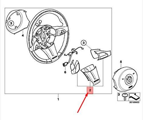GTV INVESTMENT Z4 E85 Lenkradspeichenabdeckungs-Set 32348035331 8035331