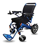 EMOGA Electric Powered Wheelchair Folding Lightweight 50lbs,Strong and Durable for The use,Motorized...