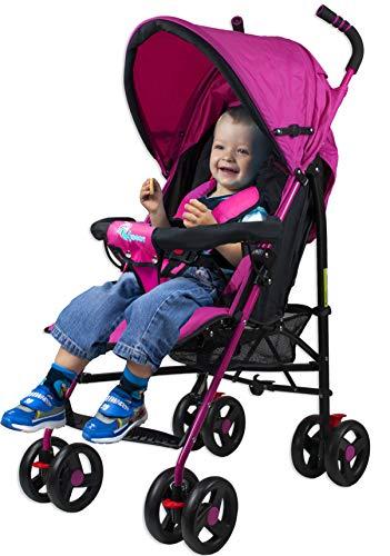 Compacto Ligero Plegable Baby Pushchair// Rosa Profiseller CHICCOT Silla de Paseo