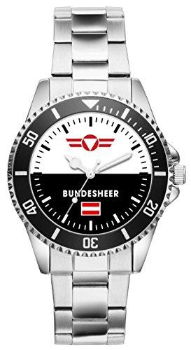 KIESENBERG Uhr - Soldat Geschenk Artikel Österreichisches Bundesheer 1050