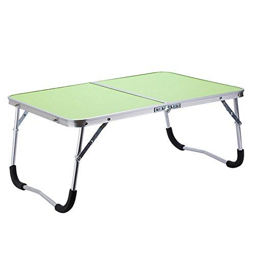Gesh Soporte de mesa para ordenador portátil, ajustable, plegable, para lectura o cama, color verde