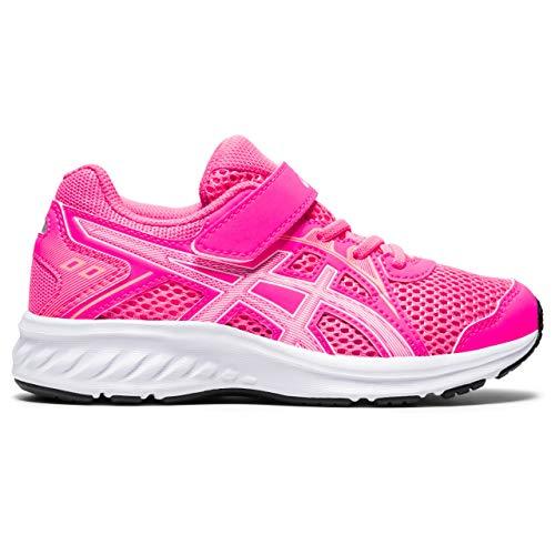 ASICS Jolt 2 PS, Zapatillas para Correr Unisex niños, Hot Pink White, Numeric_29_Point_5 EU