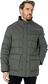 Men's Puffer Box Quilt Jacket black Large